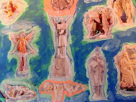 Angel Statue's by Amy Bradley