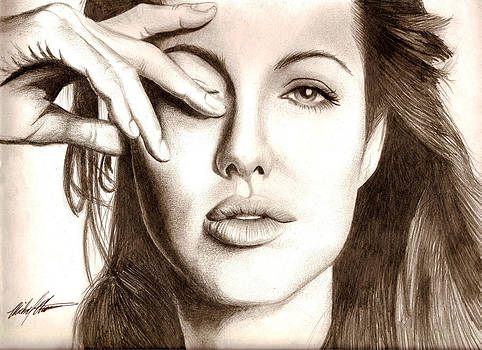 Angelina Jolie by Michael Mestas