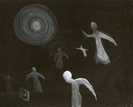 Angels in flight by Peter  McPartlin