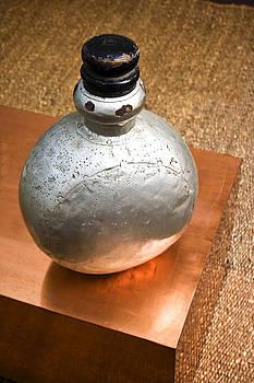 Kantilal Patel - Angled Alumina Bottle
