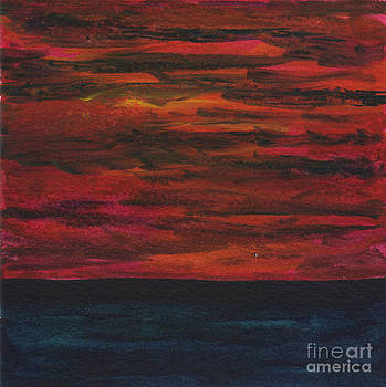 Angry Sunset 2 by Mickey Krause