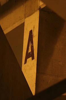 Angular A by Artist Orange