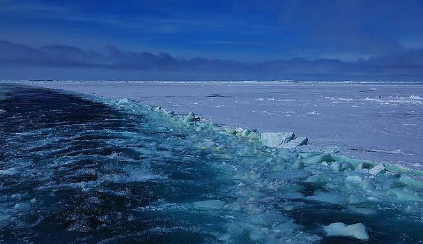 Antarctic Landscape 107 by David Barringhaus