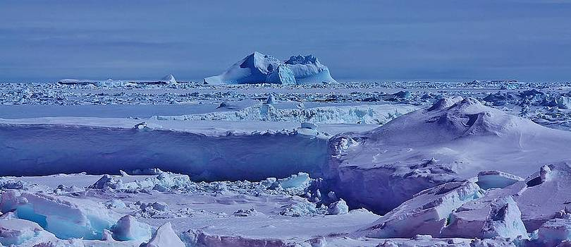 Antarctic Landscape 111 by David Barringhaus