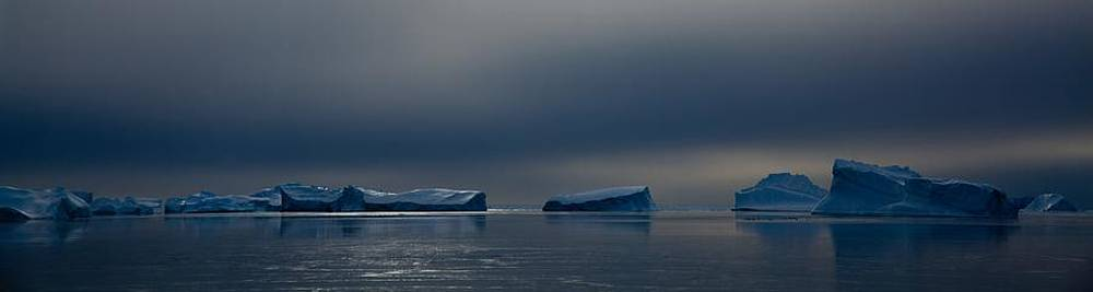 Antarctic Landscape 115 by David Barringhaus
