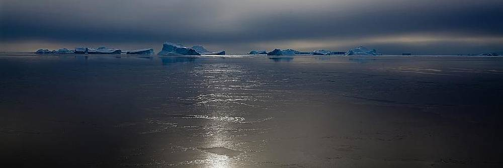 Antarctic Landscape 117 by David Barringhaus