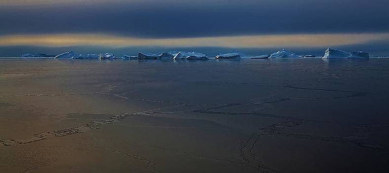 Antarctic Landscape 121 by David Barringhaus