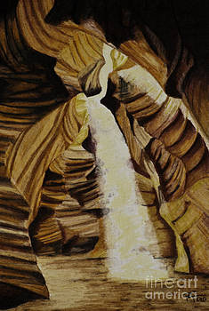 Antelope Canyon by Robert Thornton