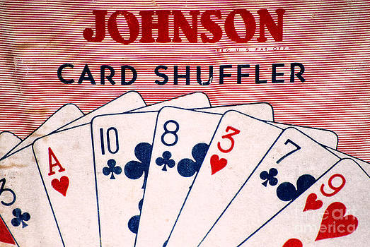 Kathleen K Parker - Antique Card Shuffler