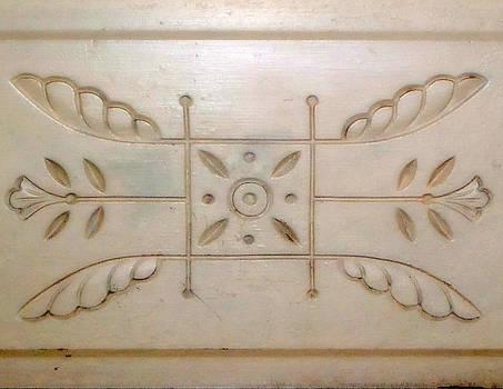 Kathy Peltomaa Lewis - Antique Door Carving