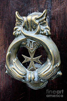 Antique Door Knocker by Denise Wilkins
