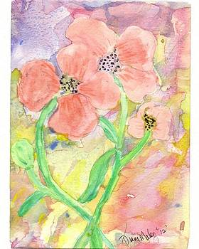 Antique Flowers by Diane Maley