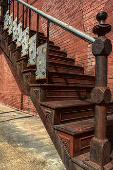 Antique Stairwell by Kelly Kitchens
