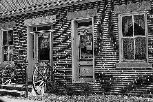 Antique Store in Black and White by Robert Turek