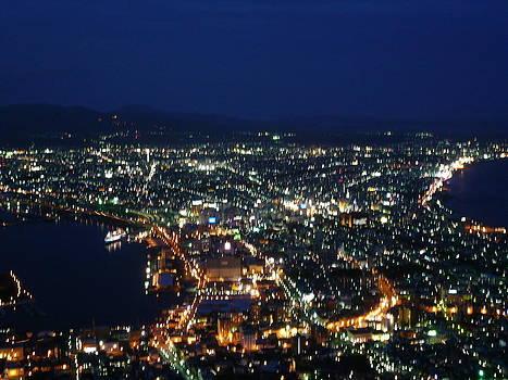 Aomori Nightlife by Chris Wolf