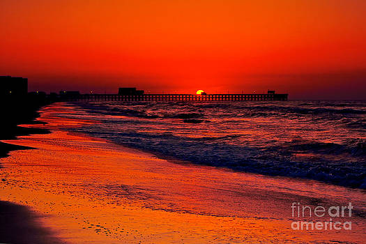 Apache Pier at Sunrise by Mark East