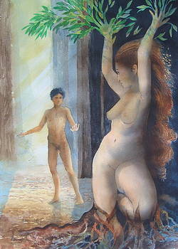 Apollo And Daphne by Richard Yoakam
