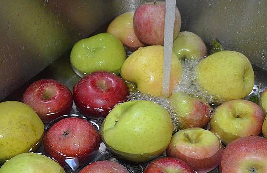 Apple Bath by Carol Bruno