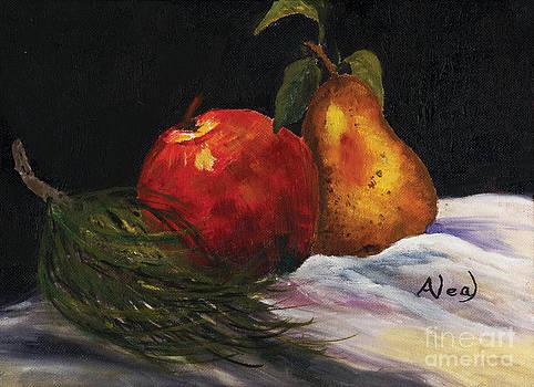 Ann Neal - Apple Christmas