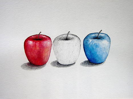 Apples  for America  by Jim  Romeo