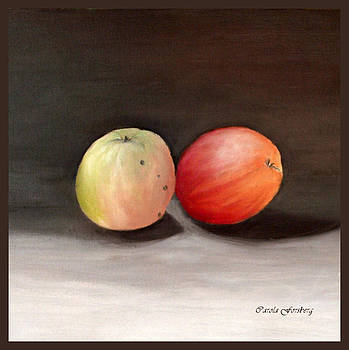 Apples Still life by Carola Ann-Margret Forsberg