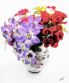 April Flowers by Tom Schmidt