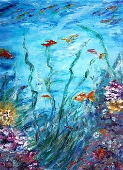 Aqua  by Mary Sedici