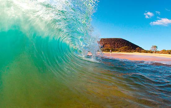 Aqua Swirl by Michael Sweet