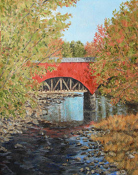 Aquaduct at Pt. Pleasant by Margie Perry