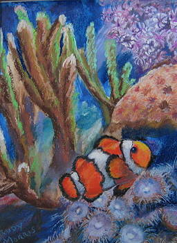 Aquarium Clown by Trudy Morris