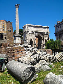 Gregory Dyer - Arch of Septimius Severus