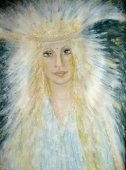 Archangel Michael by Lila Violet