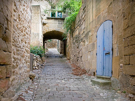 Arched Alleyway in Provence by Kent Sorensen