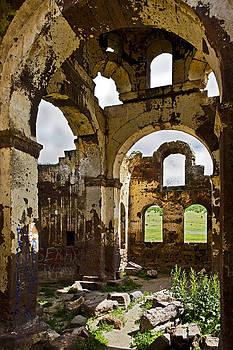 Kantilal Patel - Arches of  Kizil Kilsie