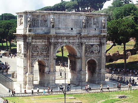 Arco di Costantino by Jessica Mulligan