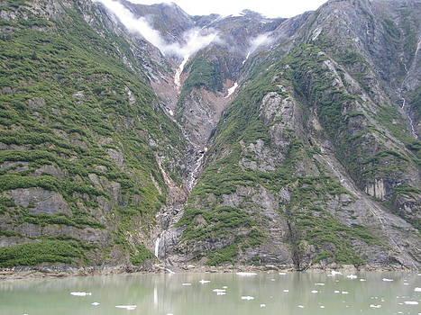 Arctic Waterfall  by Barbara Chachibaya