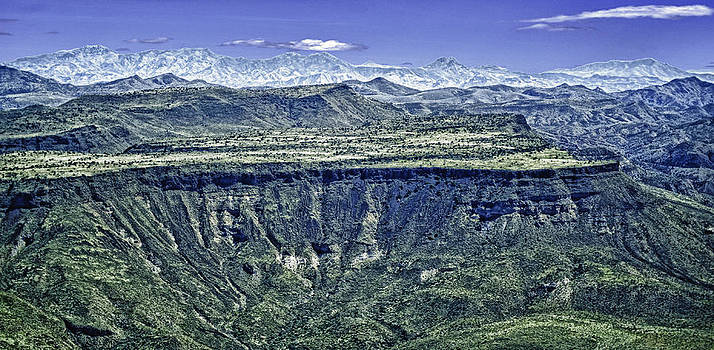 Arizona Plateau in HDR by Frank Feliciano
