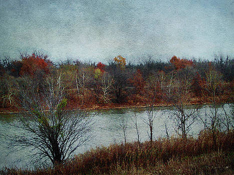 Arkansas River at 33 Landing by Linda Deal