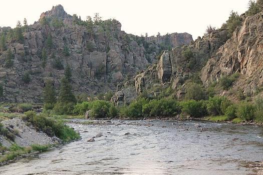 Arkansas River Browns Canyon Colorado by Lorri Crossno