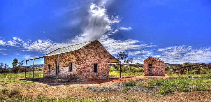 Arltunga Police by James Mcinnes