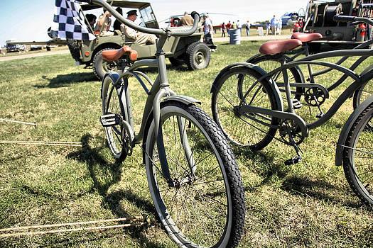 Army Bikes WWII by Sheri Bartay