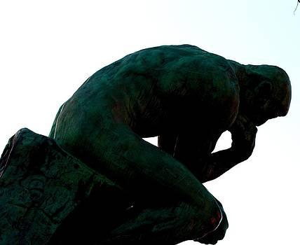 A.Rodin -Thinker by Kyra Munk Matustik