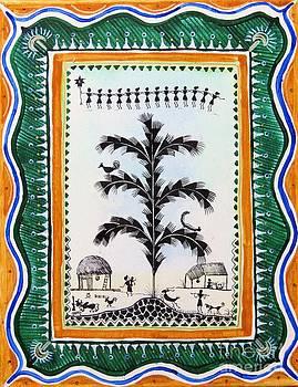 Around the tree by Anjali Vaidya
