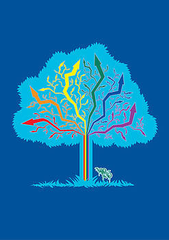 Arrow Tree by Darren Martin