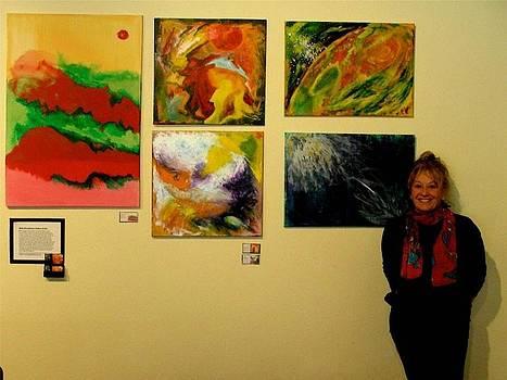 Art Exhibit  Nov 2011 by Bebe Brookman
