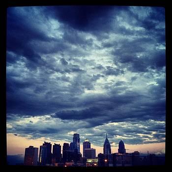 As the Storm Leaves Philadelphia by Liz Baronofsky