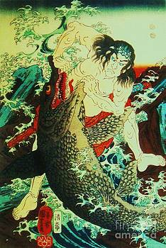 Roberto Prusso - Asahina Saburo and the crocodile