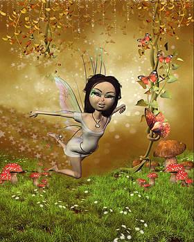 John Junek - asian fairy in the enchanted woods