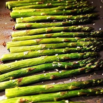 #asparagus For Dinner by Bella Guzman