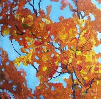 Fall Tree by Vesna Antic